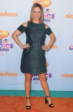 ANDREA BARBER at Nickelodeon 2017 Kids' Choice Awards in Los Angeles 03/11/2017