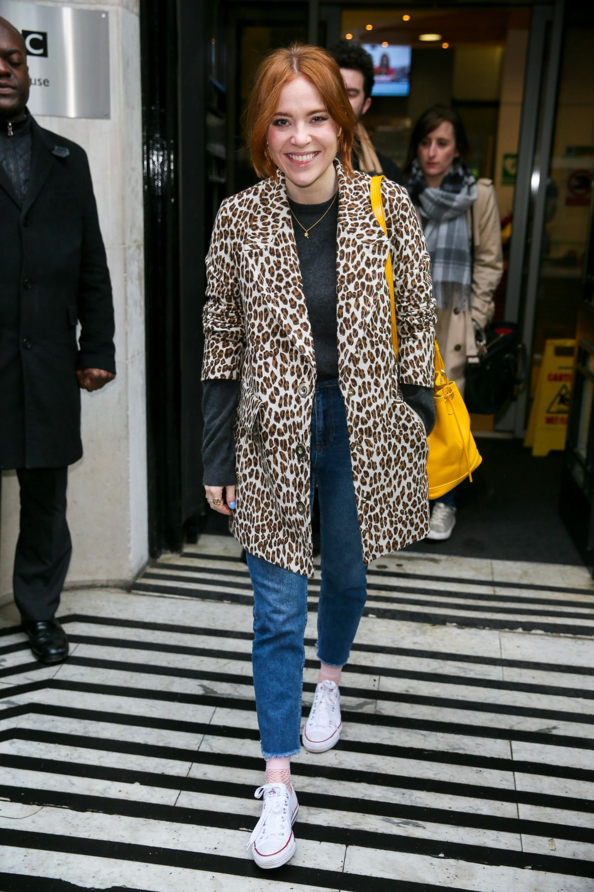 ANGELA SCANLON Leaves BBC Radio 2 in London  03/03/2017