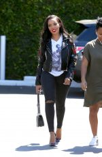 ANGELA SIMMONS Out Shopping in Beverly Hills 03/23/2017