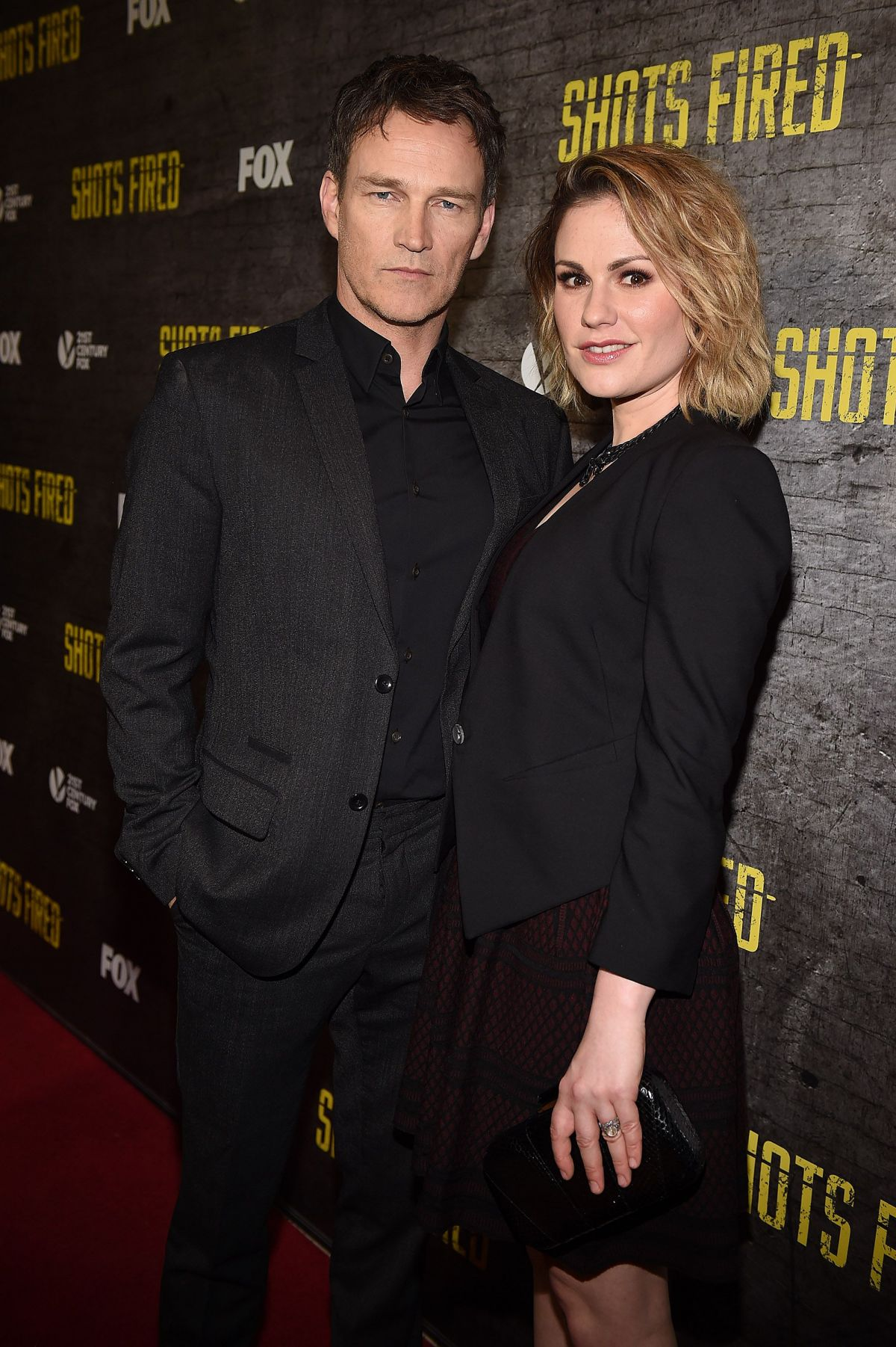 ANNA PAQUIN at Shots Fired TV Series Premiere in Los Angeles  03/16/2017