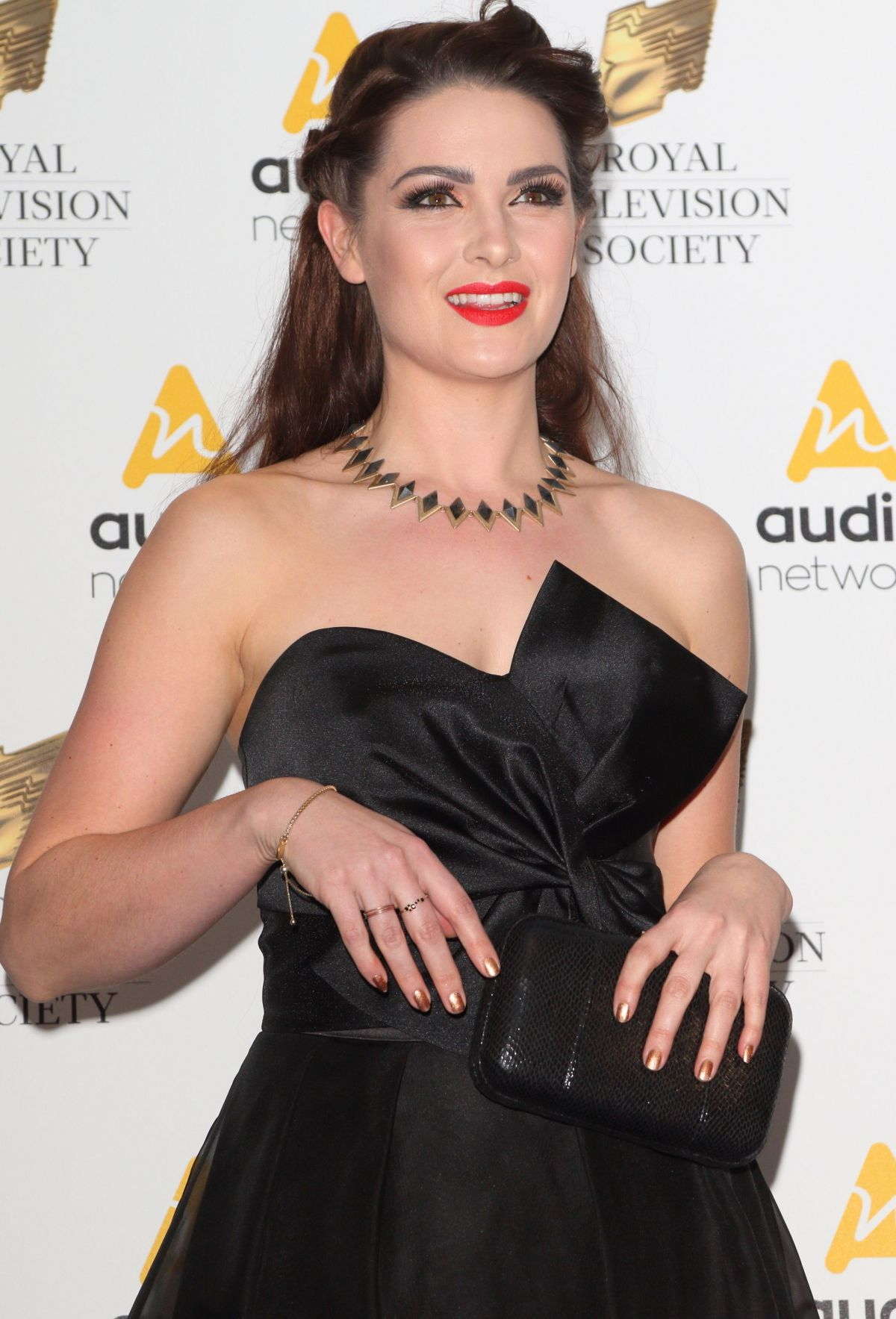 ANNA PASSEY at Royal Television Society Programme Awards 03/21/2017