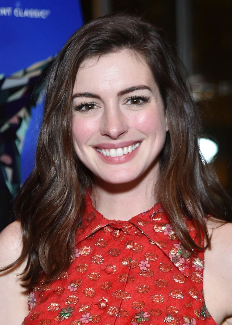 ANNE HATHAWAY at Colossal Premiere After-party in New York ... Anne Hathaway
