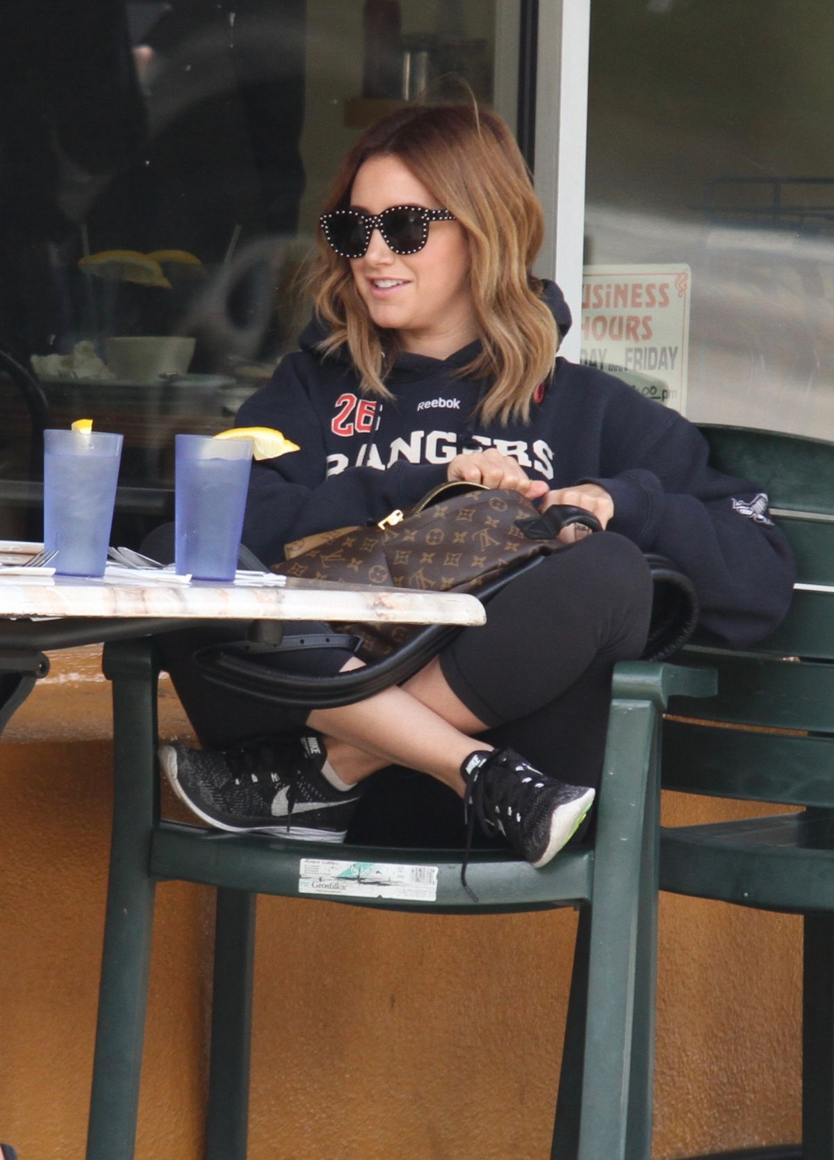 ASHLEY TISDALE Out for Breakfast in West Hollywood 03/22/2017