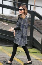 AYDA FIELD Leaves ITV Sudios in London 03/01/2017