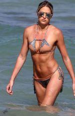 BARBIE BLANK in Bikini on the Beach in Miami 03/02/2017