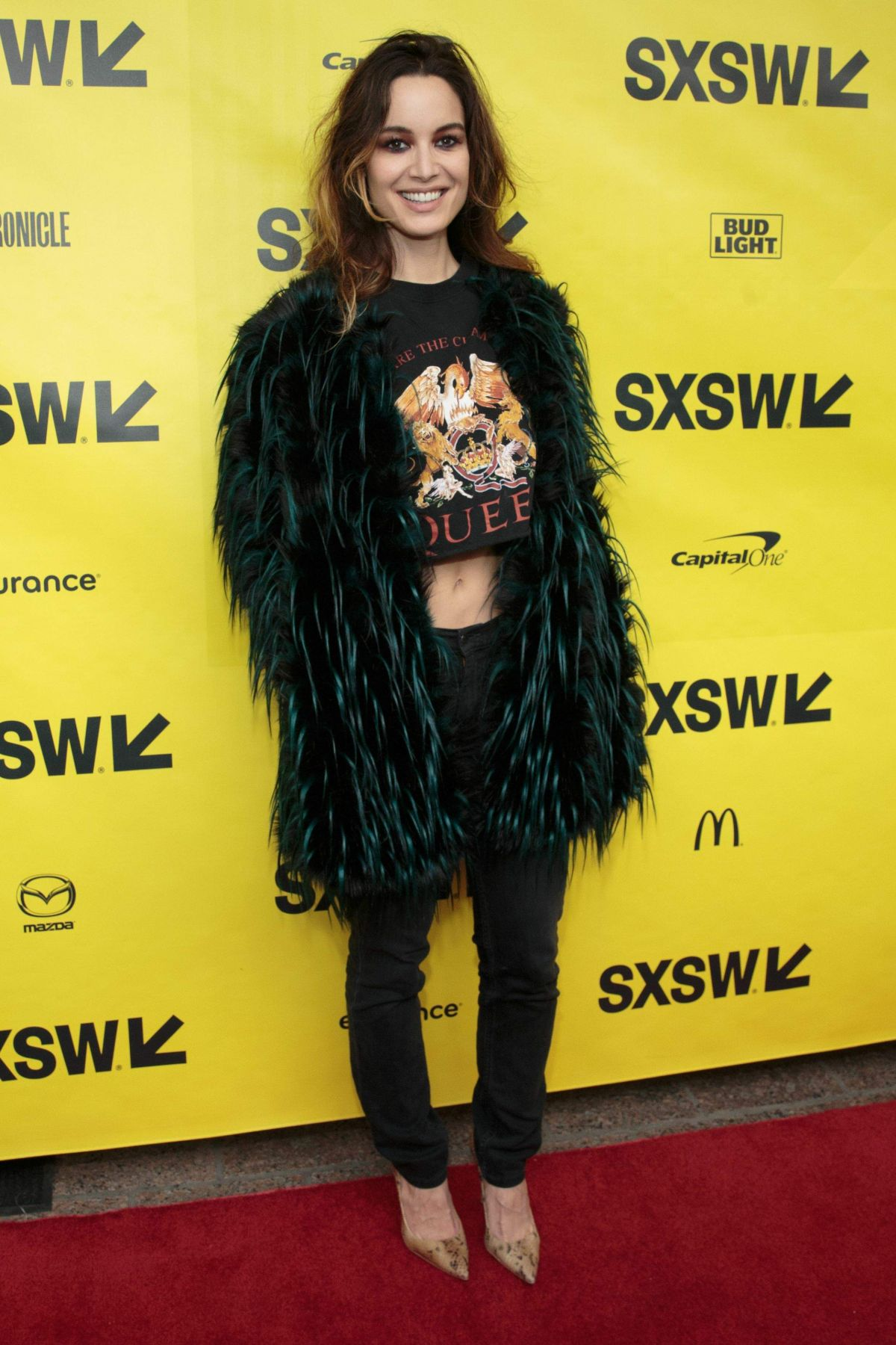 BERENICE MARLOHE at Song to Song Premiere at 2017 SXSW Festival in Austin 03/10/2017