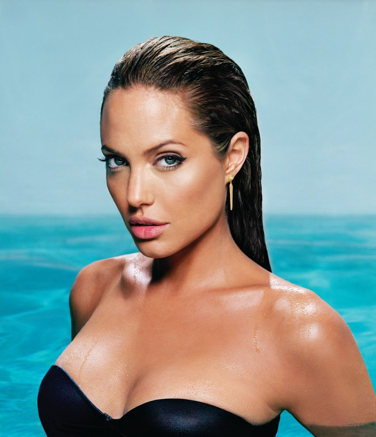 Best from the Past - ANGELINA JOLIE for Esquire Magazine, 2004