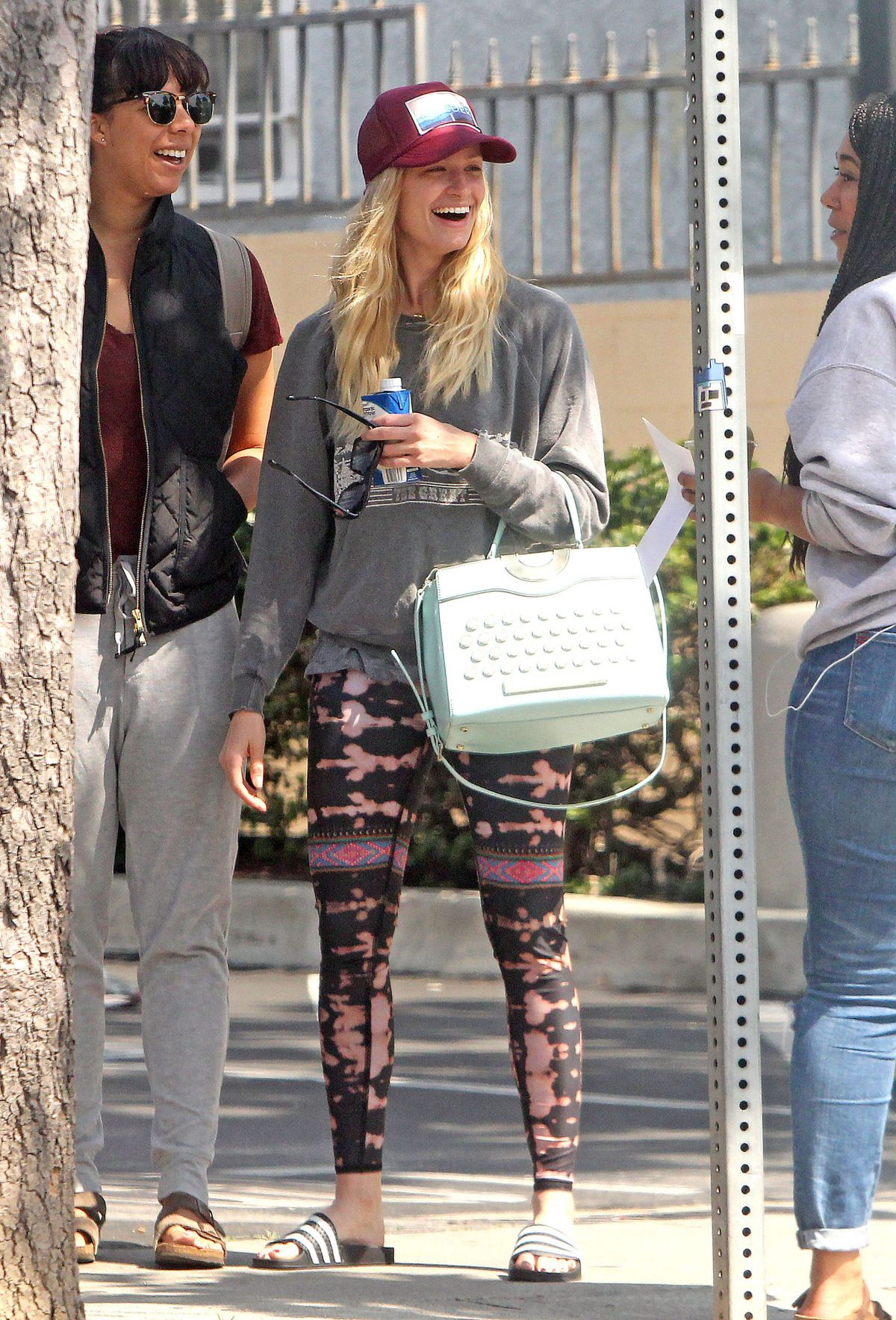 Beth behrs street style out in los angeles new pics