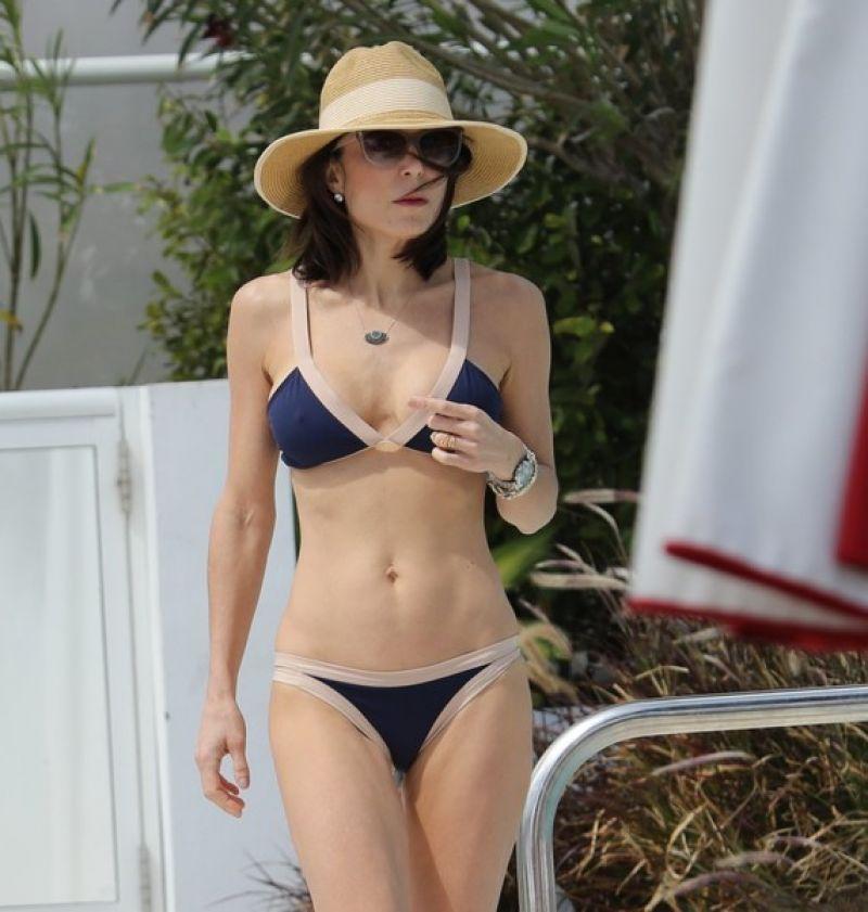 BETHENNY FRANKEL in Bikini at a Pool in Miami 03/05/2017