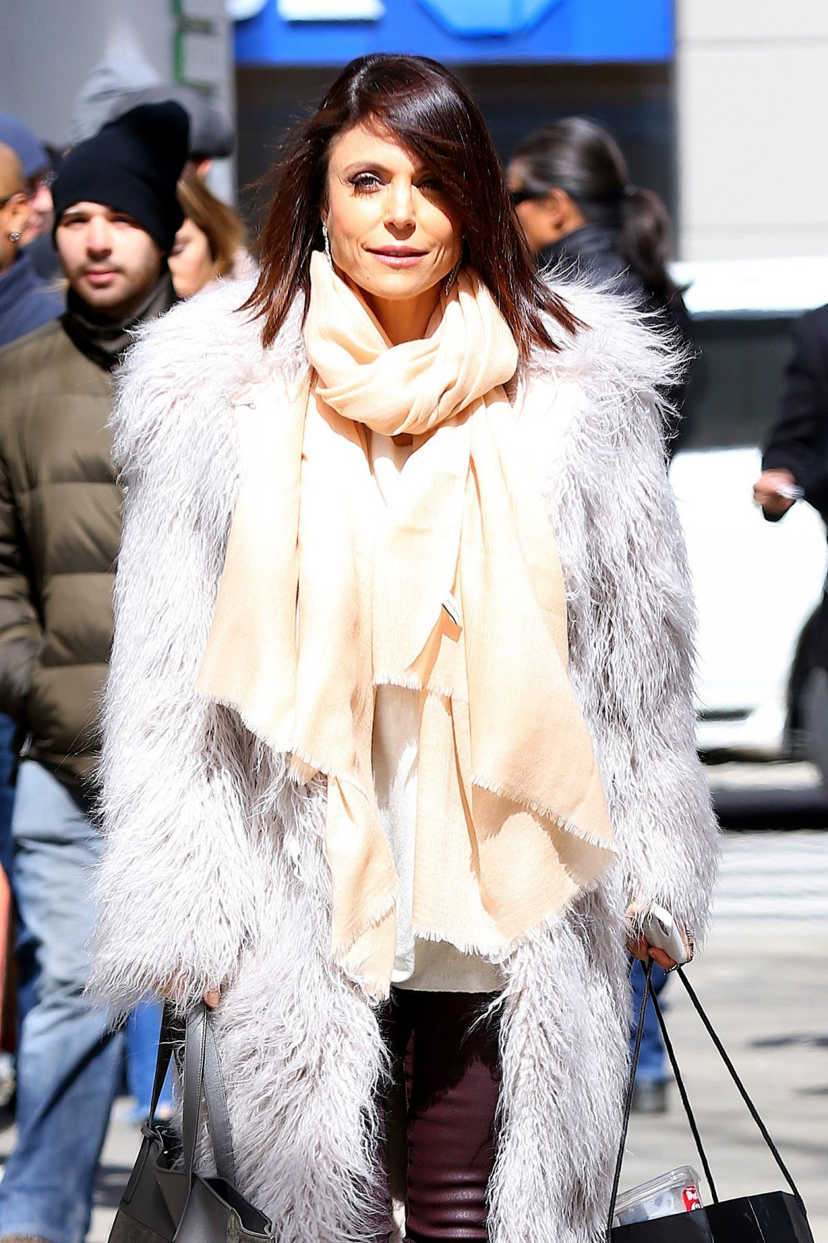 BETHENNY FRANKEL Out Shopping in New York 03/13/2017