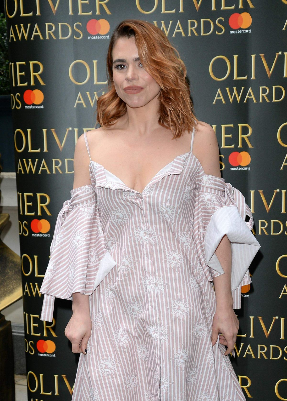 BILLIE PIPER at Olivier Awards Nominees Luncheon in London 03/10/2017