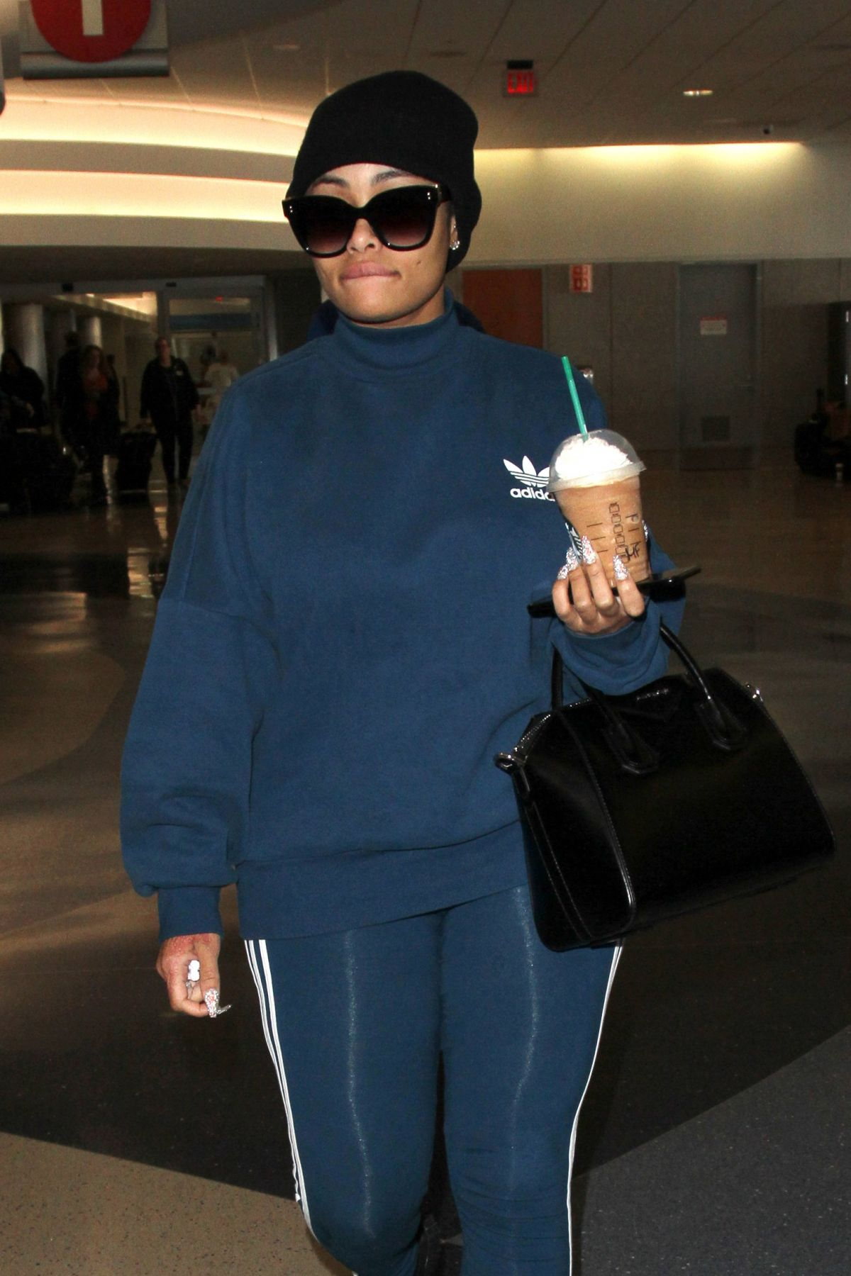 9276968b4fc BLAC CHYNA at LAX Airport in Los Angeles 03 01 2017 - HawtCelebs