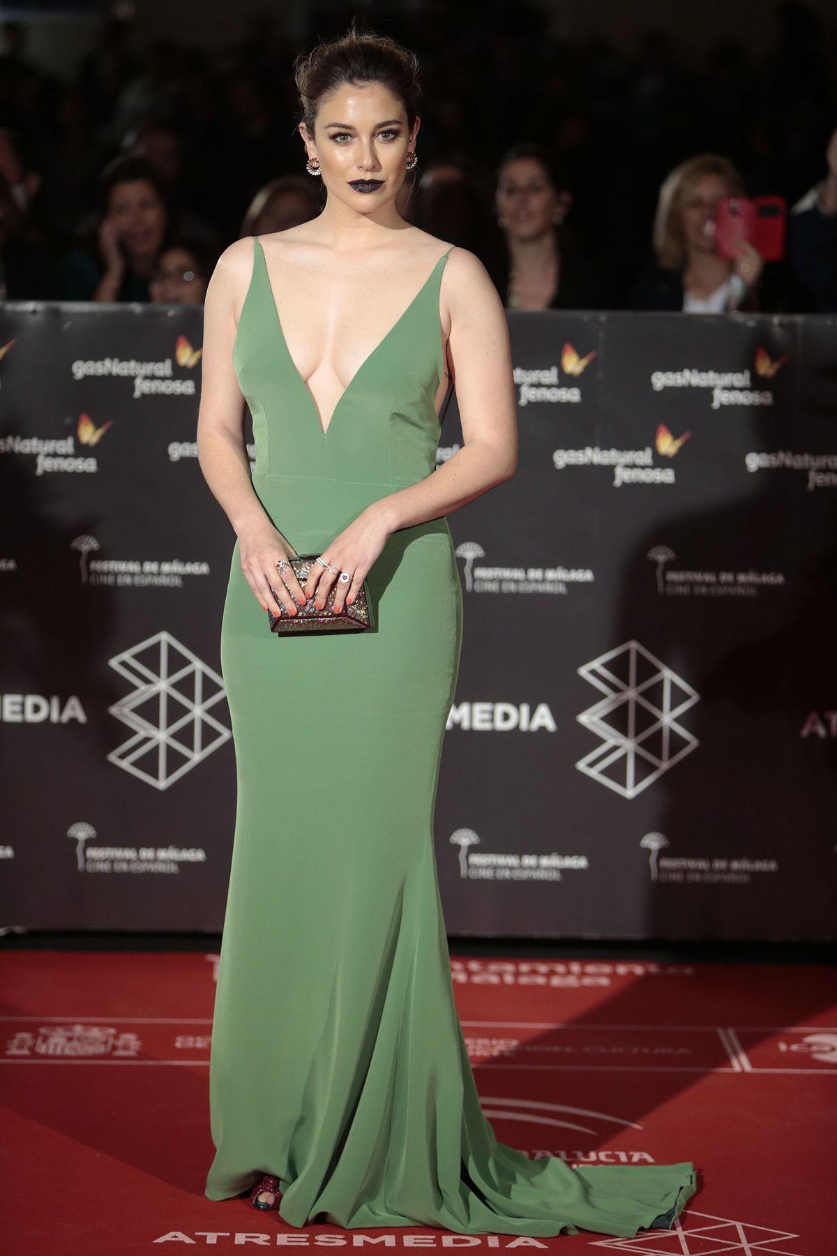 BLANCA SUAREZ at 20th Malaga Film Festival Opening Ceremony in Malaga 03/17/2017