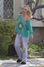 BRITNEY SPEARS Out in Los Angeles 03/20/2017