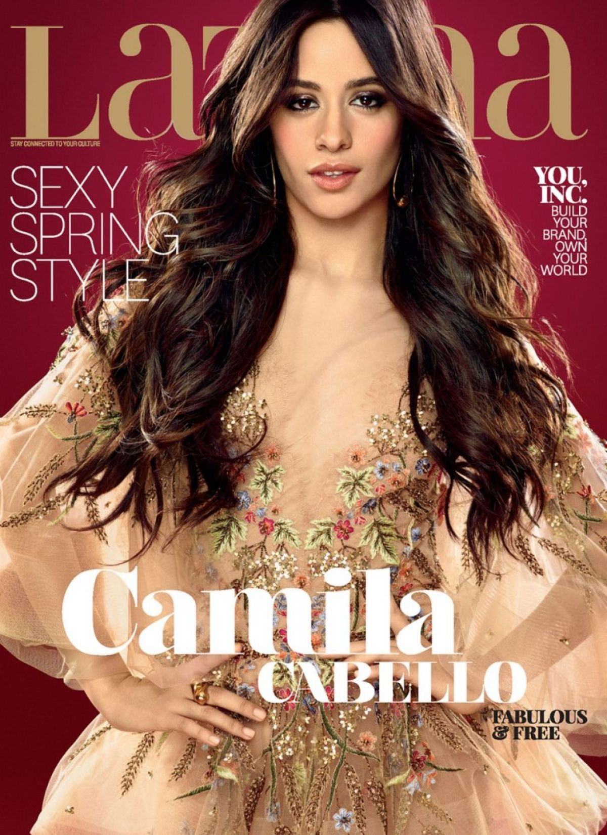 CAMILA CABELLO in Latina Magazine, April 2017