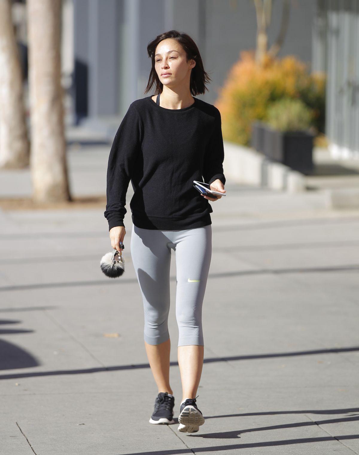 CARA SANTANA in Leggings Out in Los Angeles 03/09/2017 ...