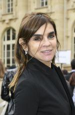 CARINE ROITFELD at Moncler Fashion Show in Paris 03/07/2017