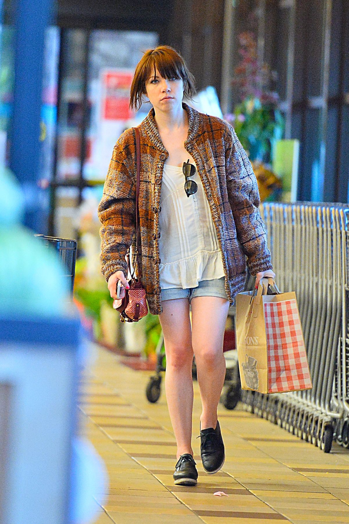 CARLY RAE JEPSEN Out Shopping in Hollywood 03/04/2017