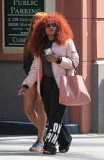 CHAKA KHAN Out for Shopping in Beverly Hills 03/07/2017