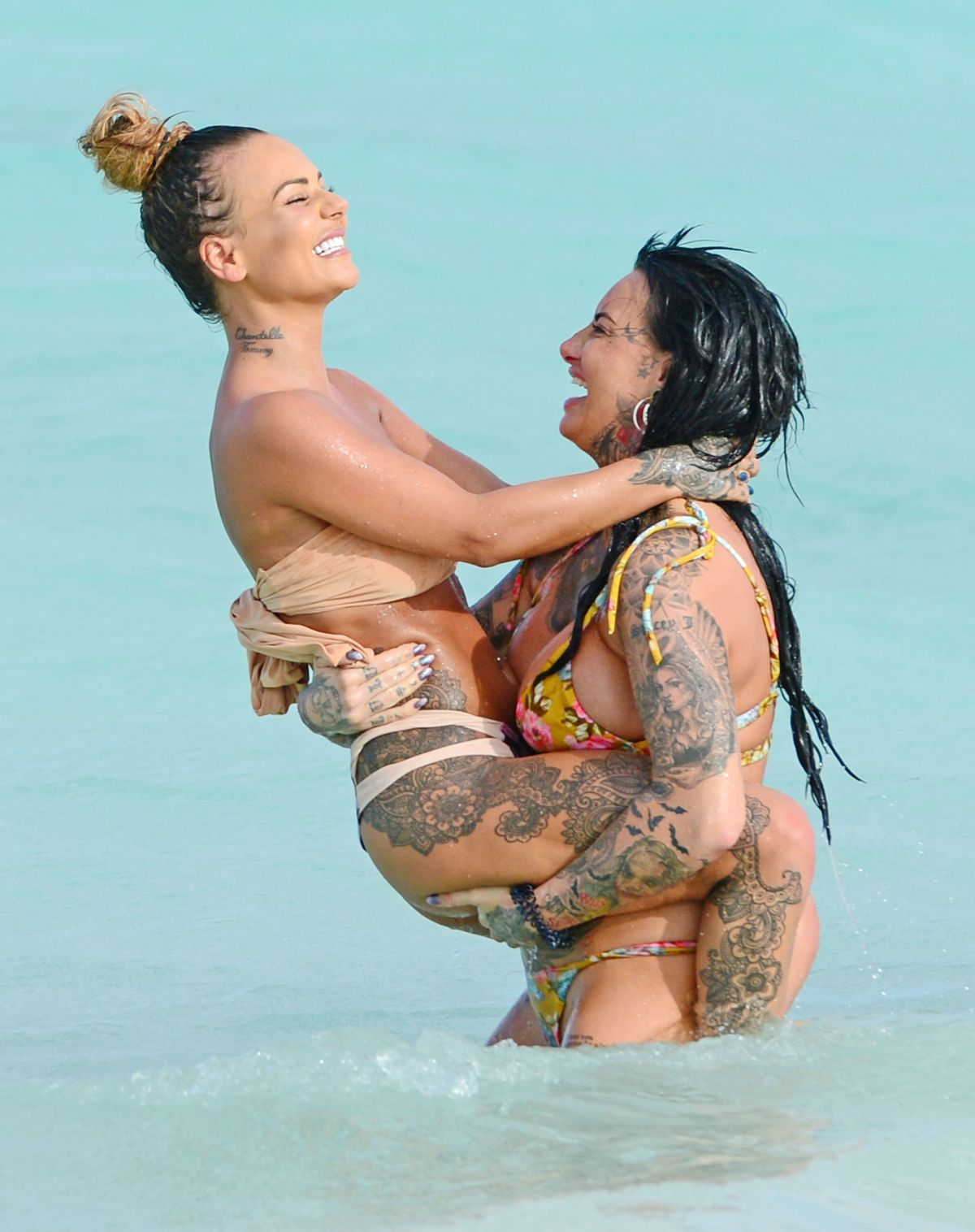 Jemma Lucy And Chantelle Connelly Pose Completely Naked