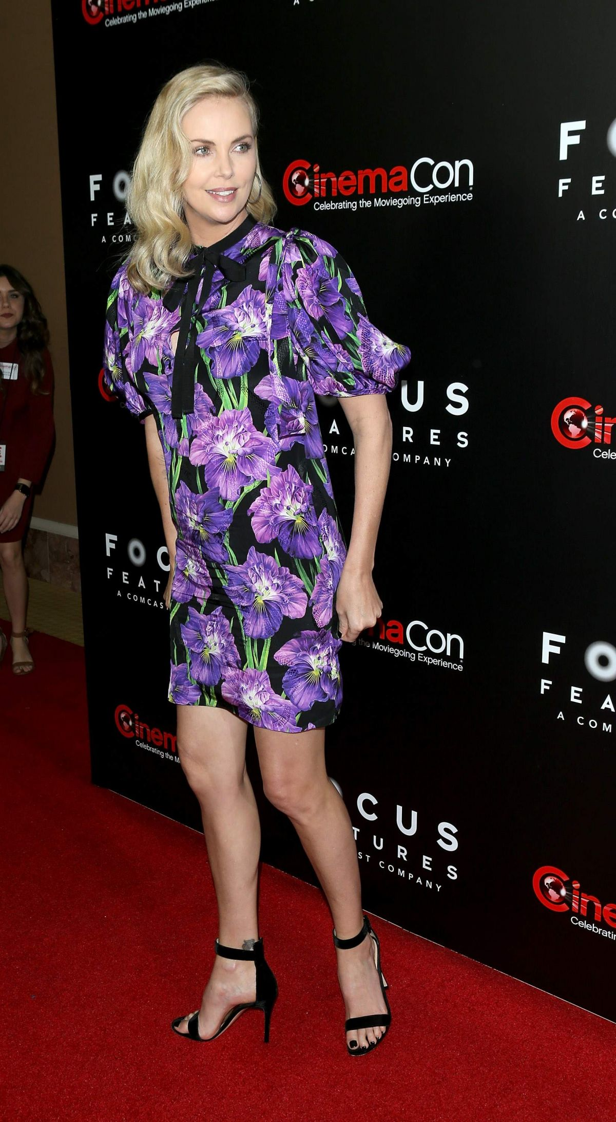 CHARLIZE THERON at Focus Features Luncheon at CinemaCon in Las Vegas ...
