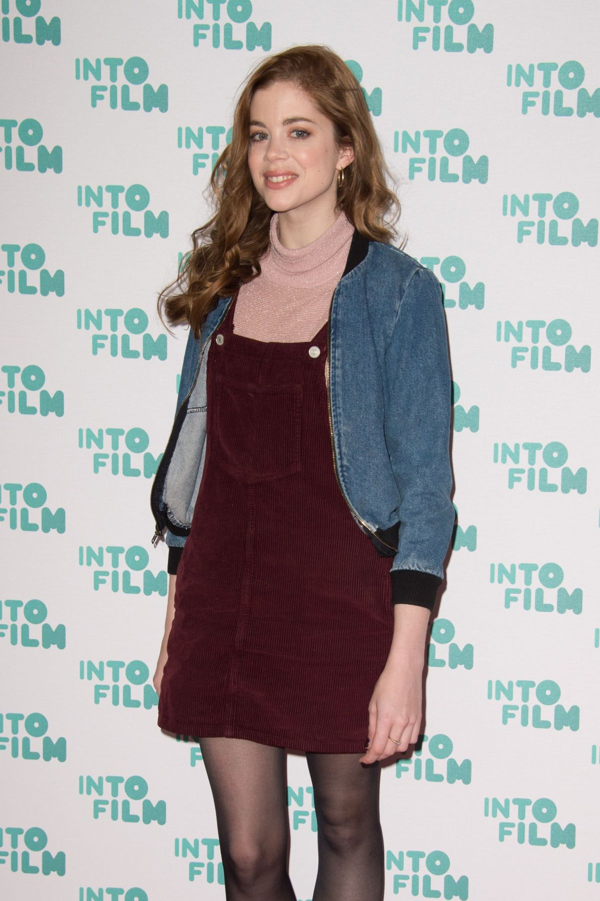 CHARLOTTE HOPE at Into Film Awards in London 03/14/2017