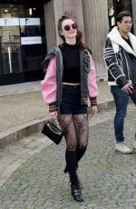 CHARLOTTE LE BON at Miu Miu Fashion Show at Paris Fashion Week 03/07/2017