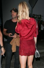 CHARLOTTE MCKINNEY at TAO Beauty & Essex in Hollywood 03/18/2017