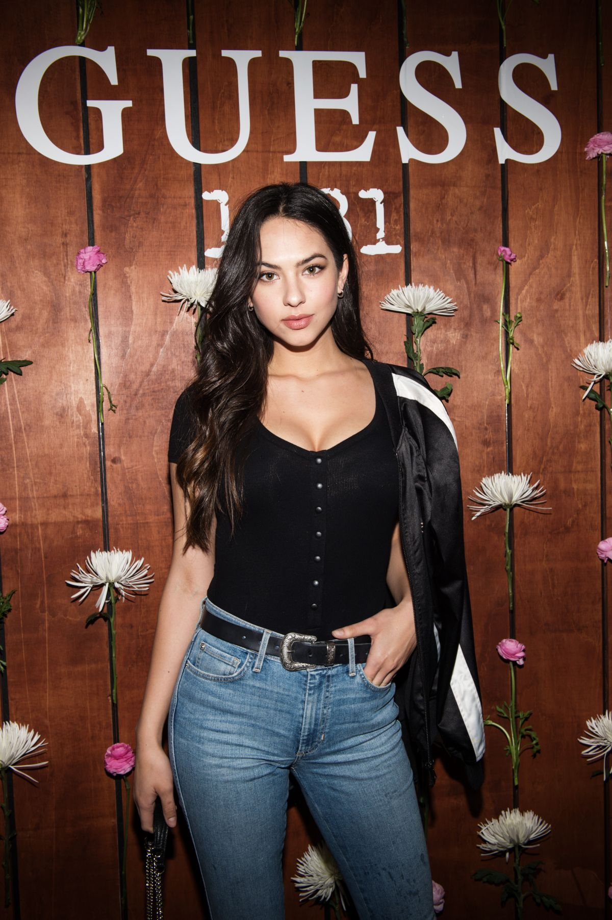 CHRISTEN HARPER at Guess 1981 Fragrance Launch in Los Angeles 03/21/2017