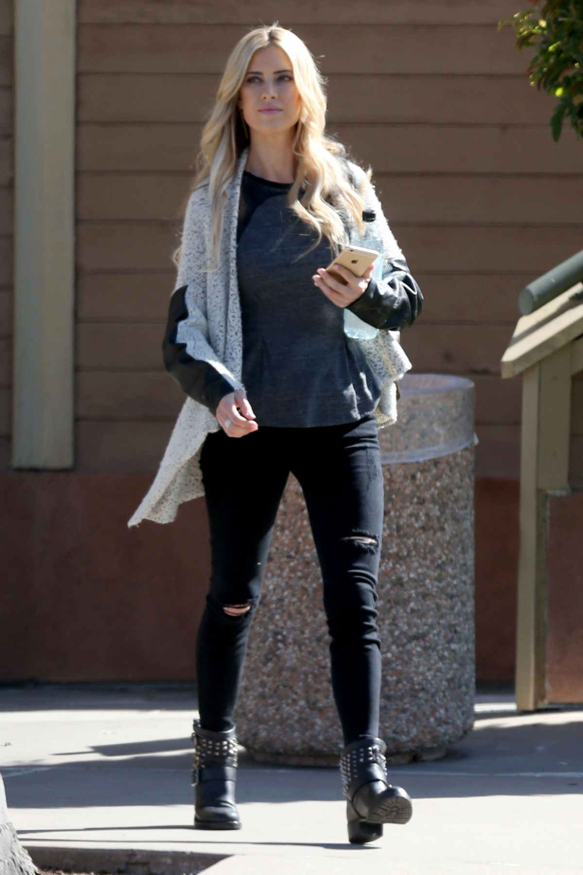 CHRISTINA EL MOUSSA Out and About in Los Angeles 03/06/2017