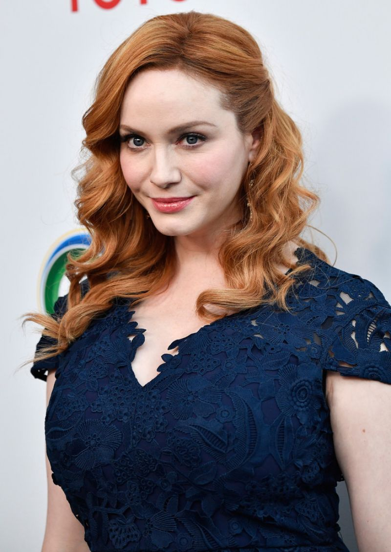 CHRISTINA HENDRICKS at UCLA Celebrates Innovators for a Healthy Planet 03/13/2017