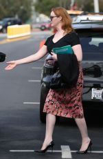 CHRISTINA HENDRICKS Out and About in Los Angeles 03/10/2017