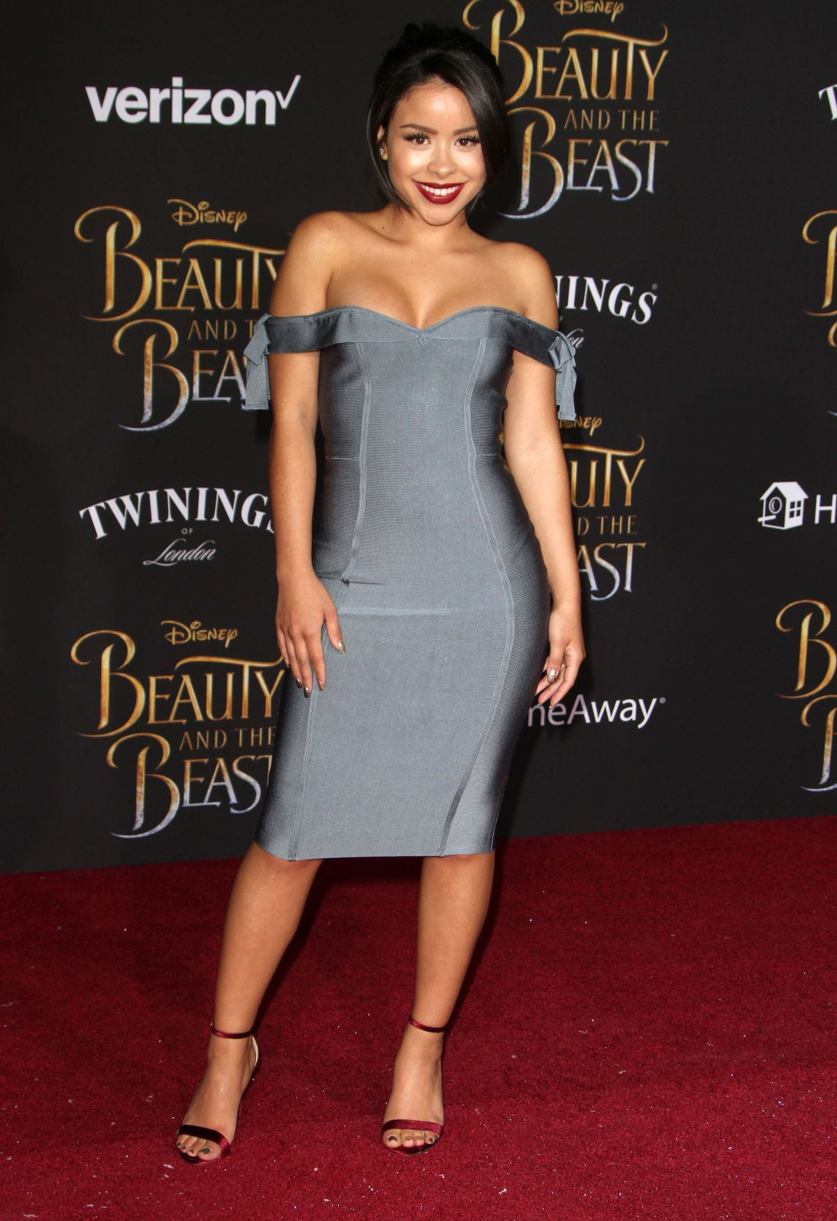 CIERRA RAMIREZ at Beauty and the Beast Premiere in Los Angeles 03/02/2017