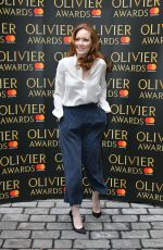 CLARE FOSTER at Olivier Awards Nominees Luncheon in London 03/10/2017