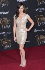 COLLEEN BALLINGER at Beauty and the Beast Premiere in Los Angeles 03/02/2017