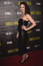 CONOR LESLIE at Shots Fired TV Series Premiere in Los Angeles  03/16/2017
