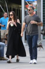 DAKOTA JOHSNON Out for Frozen Yogurt in Los Angeles 03/19/2017