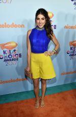 DANIELLA MONET at Nickelodeon 2017 Kids' Choice Awards in Los Angeles 03/11/2017