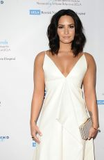 DEMI LOVATO at Open Mind Gala in Beverly Hills 03/22/2017