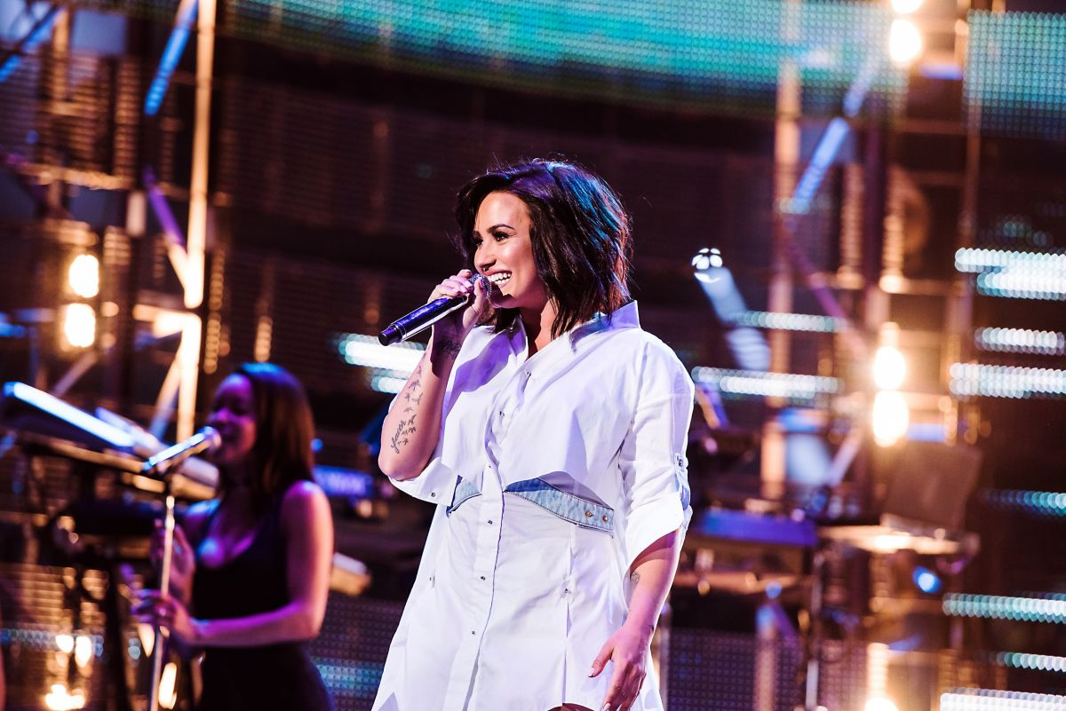 Demi Lovato Performs At Houston Livestock Show And Rodeo