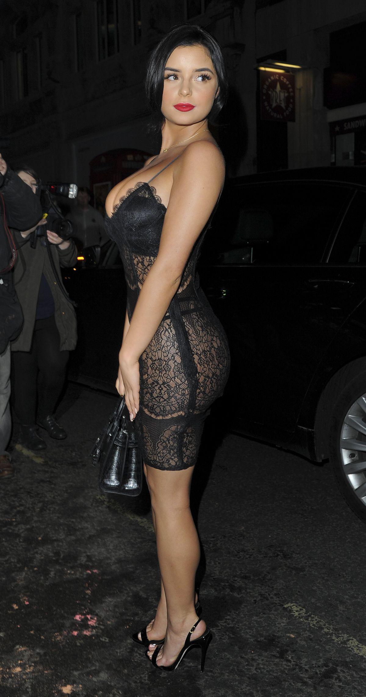 Demi Rose Mawby Magazine Launch Party London Lovato Summers