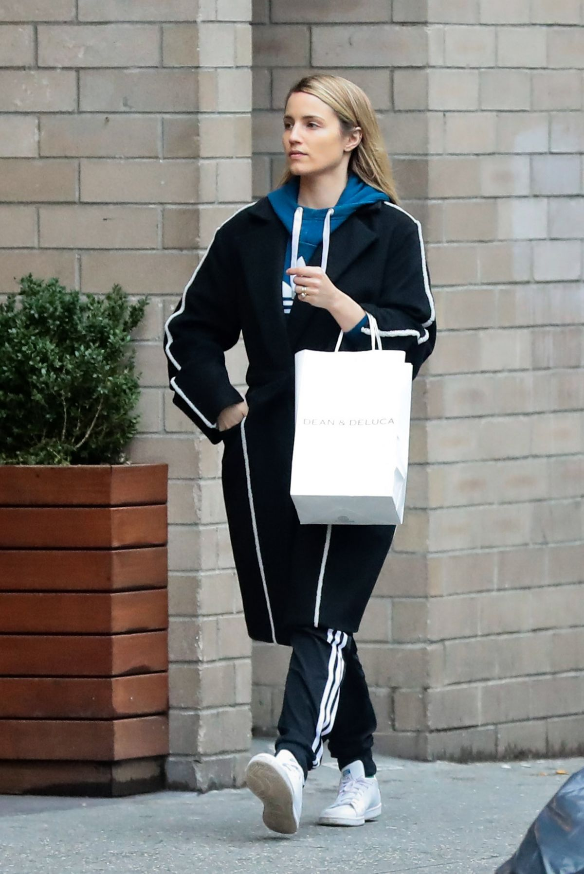 DIANNA AGRON Out Shopping in New York 03/28/2017