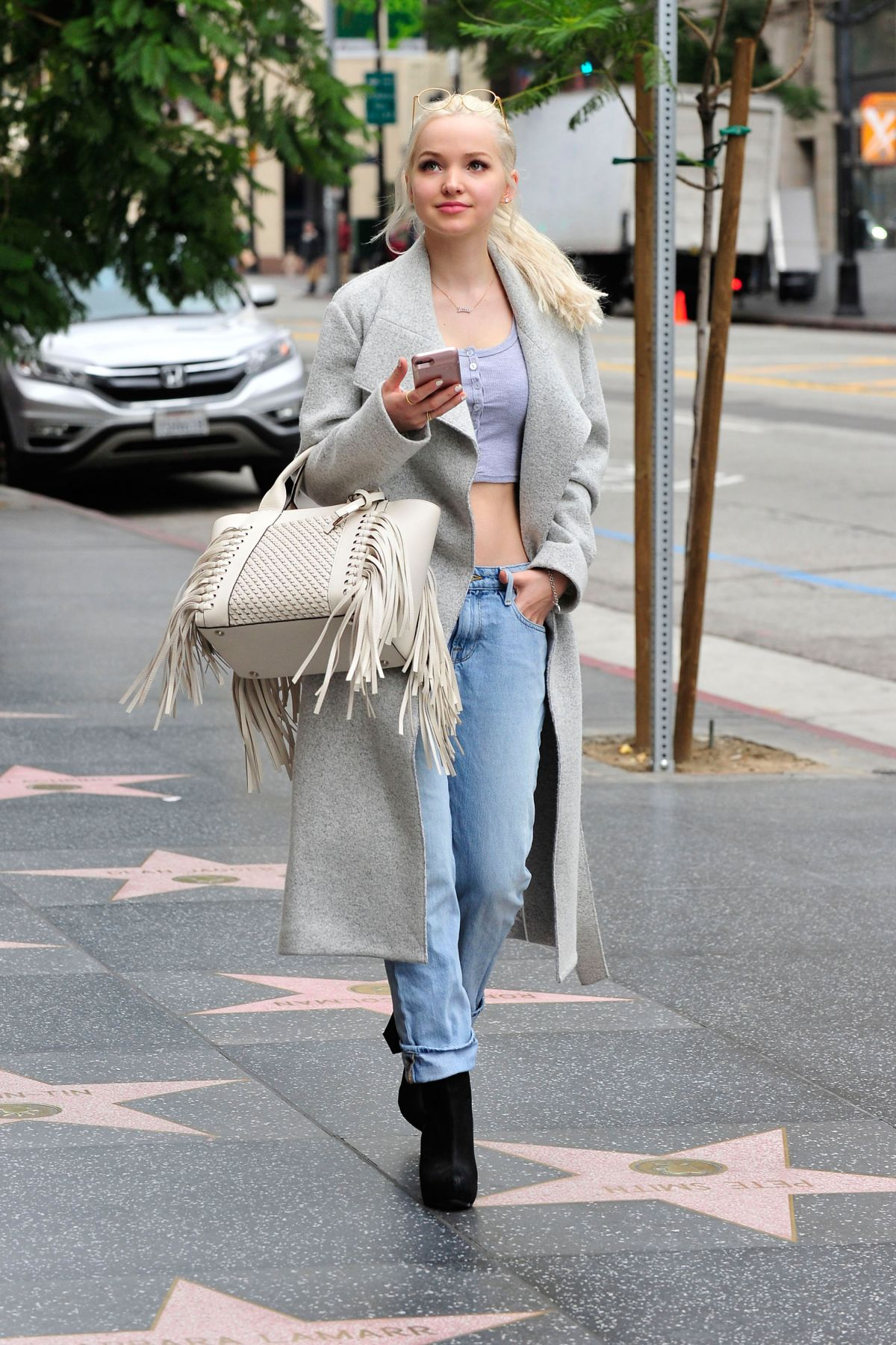 DOVE CAMERON Out Shopping in Los Angeles 03/06/2017