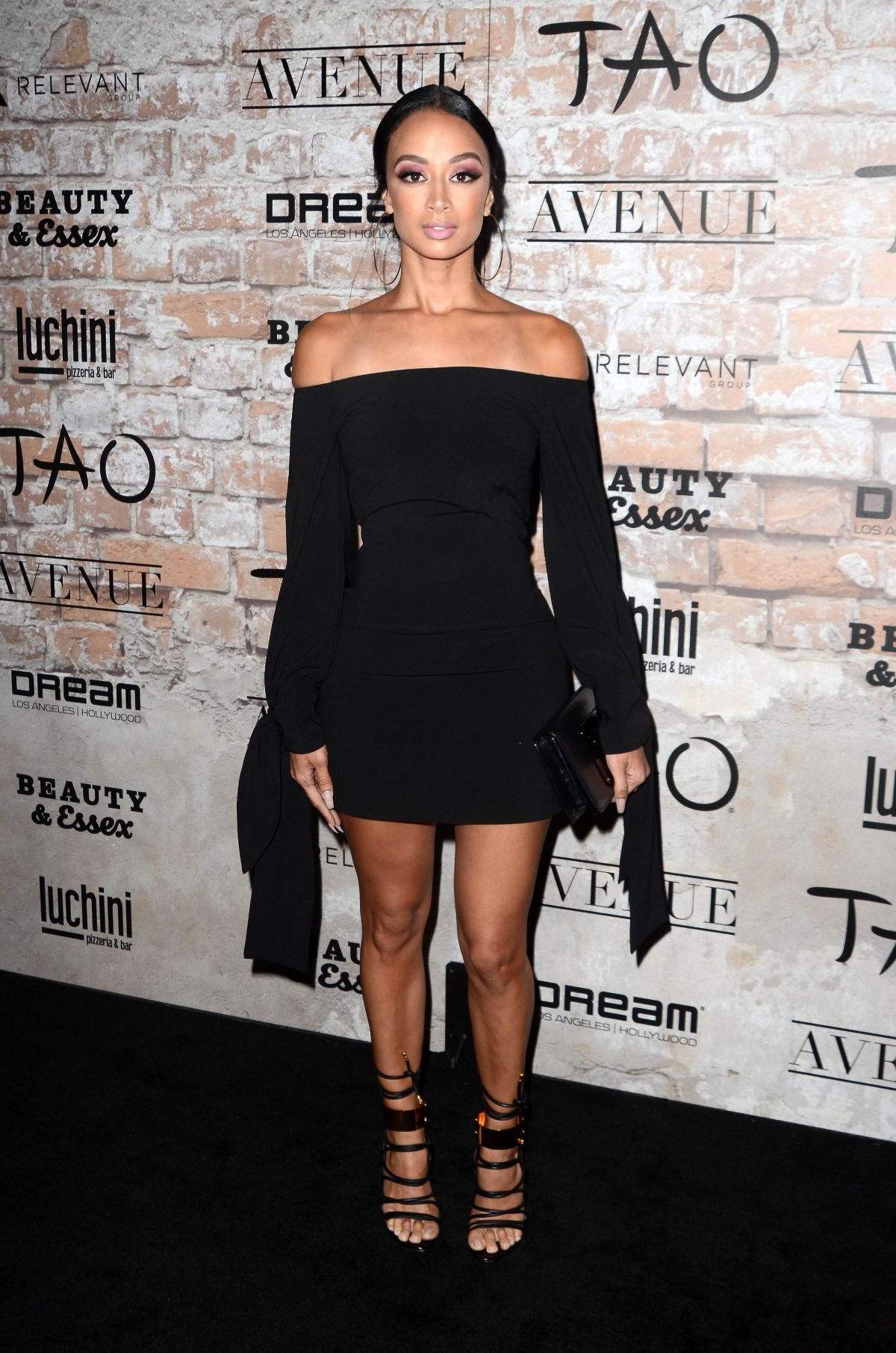 DRAYA MICHELE at Tao, Beauty + Essex, Avenue + Luchini La Grand Opening 03/16/2017