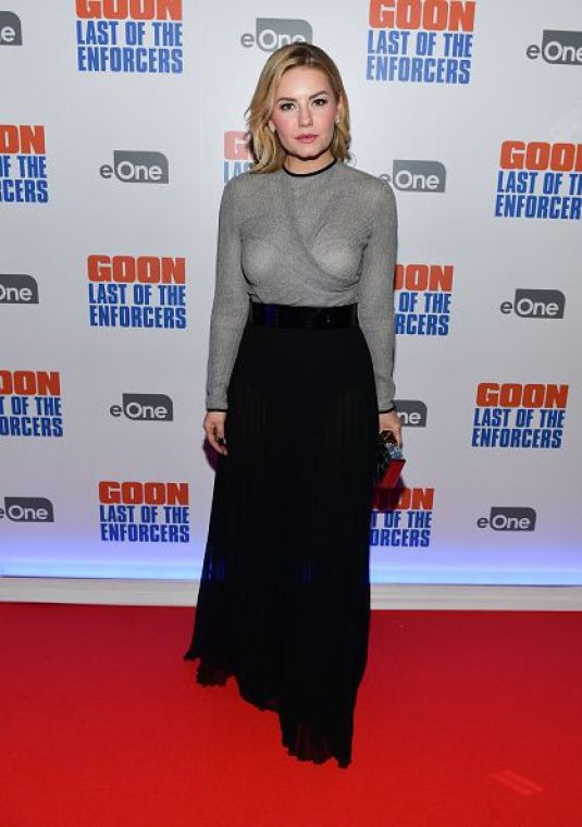 ELISHA CUTHBERT at Goon: Last of the Enforcers Premiere in Toronto 03/06/2017