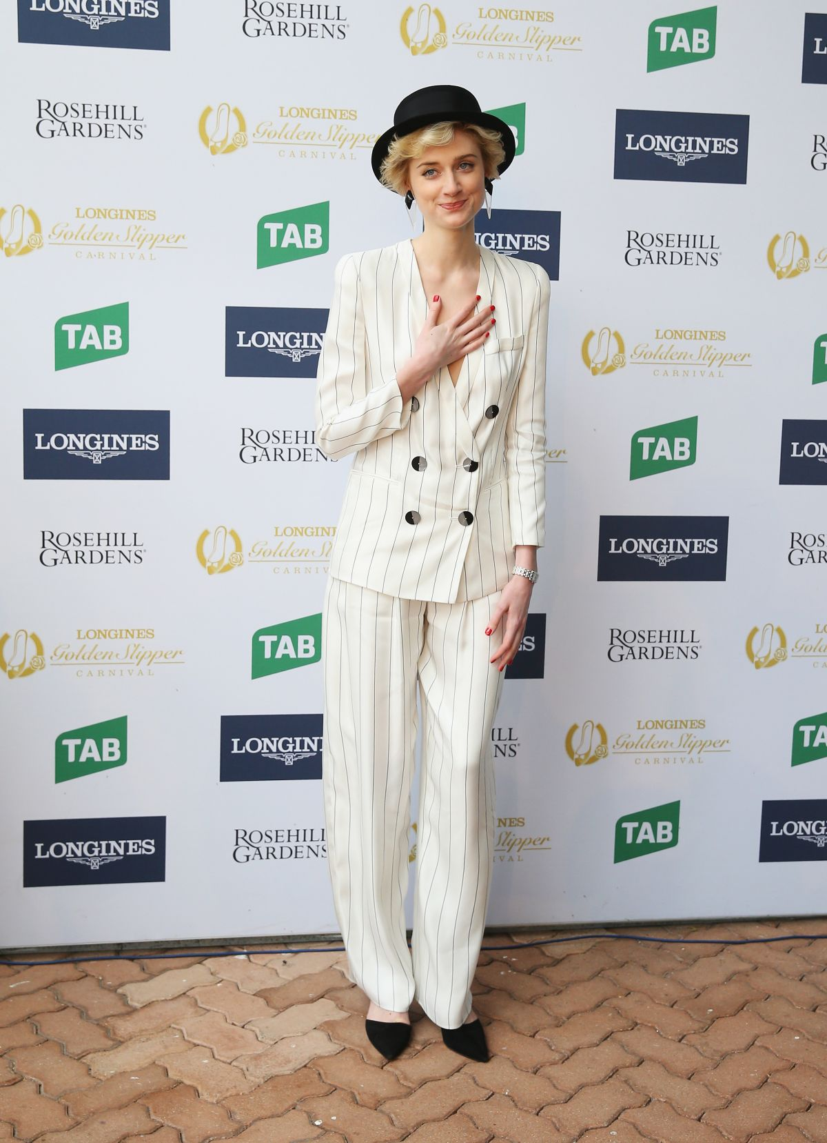 ELIZABETH DEBICKI at Golden Slipper Day in Sydney 03/18/2017