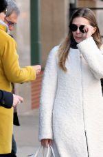 ELIZABETH OLSEN Leaves Her Hotel in New York 03/20/2017