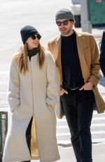 ELIZABETH OLSEN Out and About in New York 03/20/2017