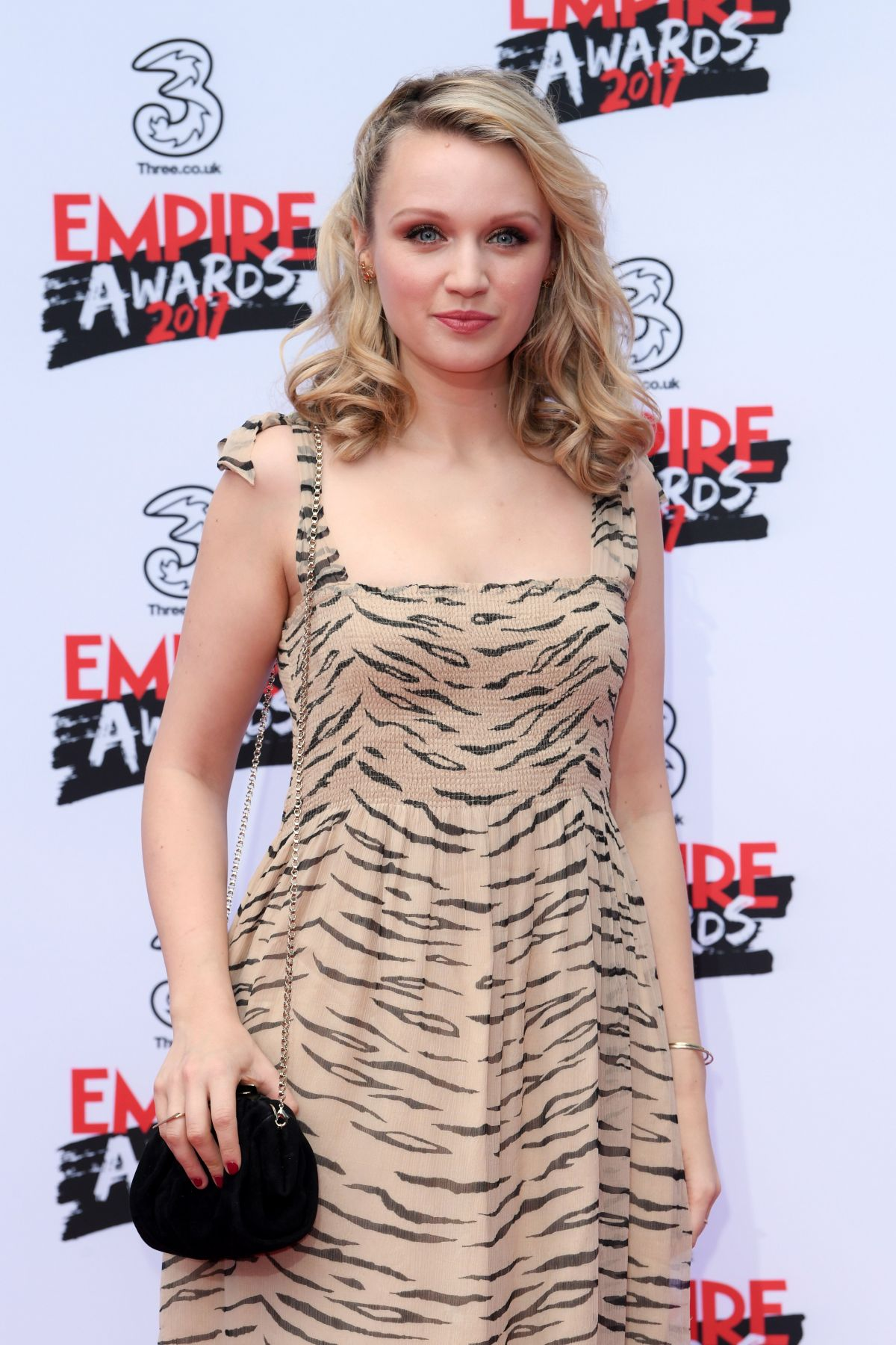 EMILY BERRINGTON at Three Empire Awards in London 03/19/2017