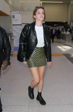 EMMA WATSON Arrives at Los Angeles International Airport 03/07/2017